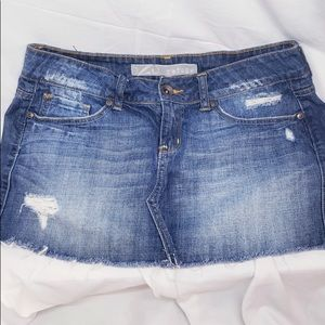 Refuge Denim Skirt | Size 5